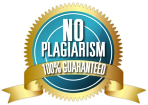 Guaranteed no plagiarism